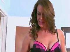 Mature cougar milf sucking fucking big black cock tube porn video