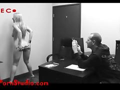 Casting another desperate skinny porn hooker takes it up the porn tube video