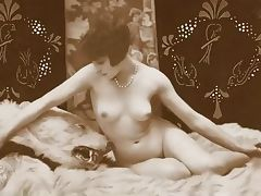 Vintage Nude Pinup Photos c 1900