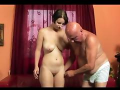 Old Man, Big Tits, Hardcore, Old Man