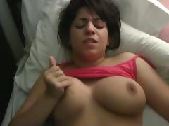 Natural titted GF gets horny as fuck porn tube video