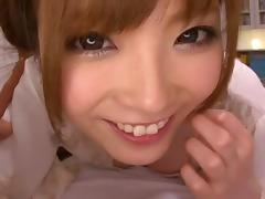 Newly wed Rina Kato gets fucked all over the house and bedroom porn tube video