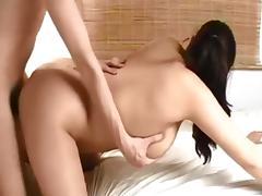 Curvy brunette homemade porn tube video