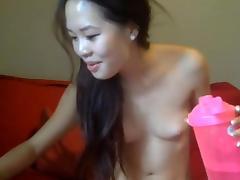 Petite, Asian, Dildo, Fingering, Masturbation, Pussy