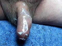 Foreskin, Big Cock, Desk, Huge, Monster Cock, Penis