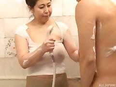 Fat, Asian, Bath, Bathing, Bathroom, BBW