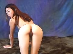 Leggy nude model with small tits and a nice pussy strips porn tube video
