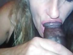 White streetwhore pleasing a black dick