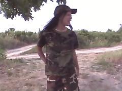 2 lesbiennes uniformes militaire porn tube video