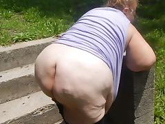 hubby and me outside porn tube video