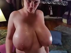Titty Fuck w Cum! porn tube video