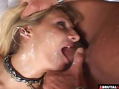 Ass eating and dick sucking whore takes a nice big cumshot porn tube video