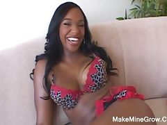 Big boobs ebony chick fucked hard by lex steele tube porn video