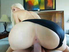 Halle Von models all kinds of sexy panties as they fuck