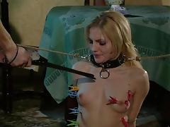 Electro and clothespins tortures tube porn video