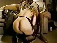 Blonde milf sucking and fucking black cock tube porn video
