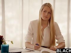BLACKED First Big Black Cock For Blonde Scarlet Sage porn tube video