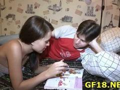 Guy bangs her tube porn video