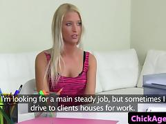 Chick agent strapons squirting czech beauty