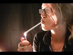 Smoking blonde 1 tube porn video