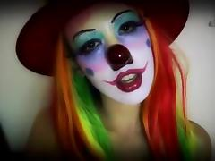 Popper clown tube porn video