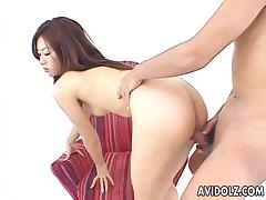 Asian slut getting her warm holes filled up thoroughly