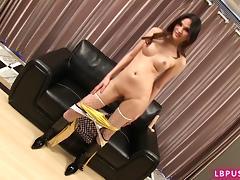 Post-Op Ladyboy Yaya Toying porn tube video