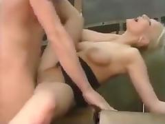 Teacher and sexy blonde student porn tube video