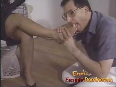 Dominant milf tricks a pizza boy into being her sex slave porn tube video