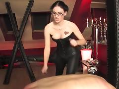 Caning, Anal, BDSM, Bound, Caning, Femdom