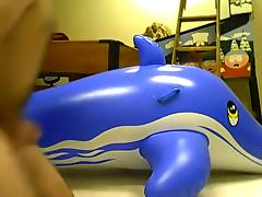 mating inflatable blue whale 2 porn tube video