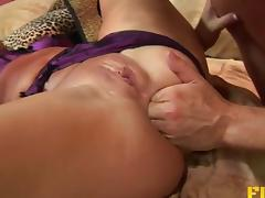 Hard anal with a nasty slut in a lingerie set porn tube video