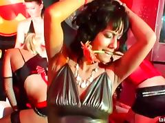 It's the kinky nightclub where all the ladies go wild very quickly! porn tube video