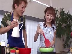 Hardcore Japanese pornstar Tsubasa Amami pleasures guys porn tube video