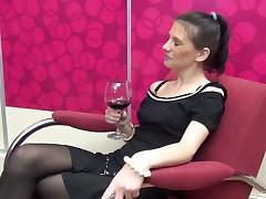 Mature chick teaches her favorite apprentice some lesbian secrets