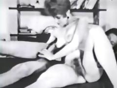 Vintage, Classic, Group, Hairy, Orgy, Threesome