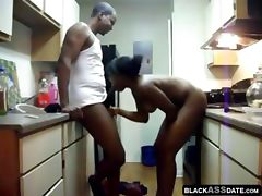 Rough Sex in the Kitchen tube porn video