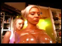 Busty slave girl loves to be dominated