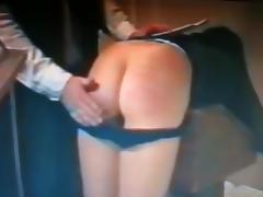 Spanking, BDSM, Spanking, Vintage, Bend Over