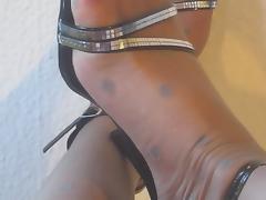 Boots, Boots, Heels, Lingerie, Nylon, Pantyhose