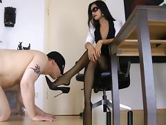 Amazing Homemade video with Femdom, Fetish scenes