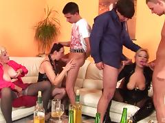 Big dicks of college guys fucking old slutty pussies tube porn video