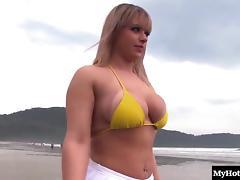 Bikini, Big Tits, Bikini, Boobs, Couple, Hardcore