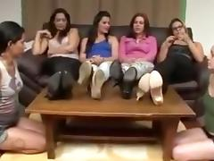 Brazilian feet worship
