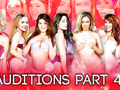 Cassidy Klein, Eva Lovia, Harlow Harrison, Hope Howellin Season 2 - Auditions Part 4 - DigitalPlayground