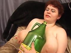Fat Mature, BBW, Chubby, Chunky, Dildo, Fat