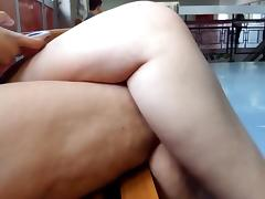 Crossed legs at college usp very hot porn tube video