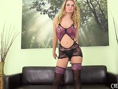 Five minutes after meeting him she sits on his cock
