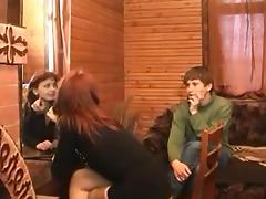 Russian mom with not her son 1 tube porn video