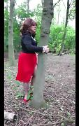 Sindy in the woods